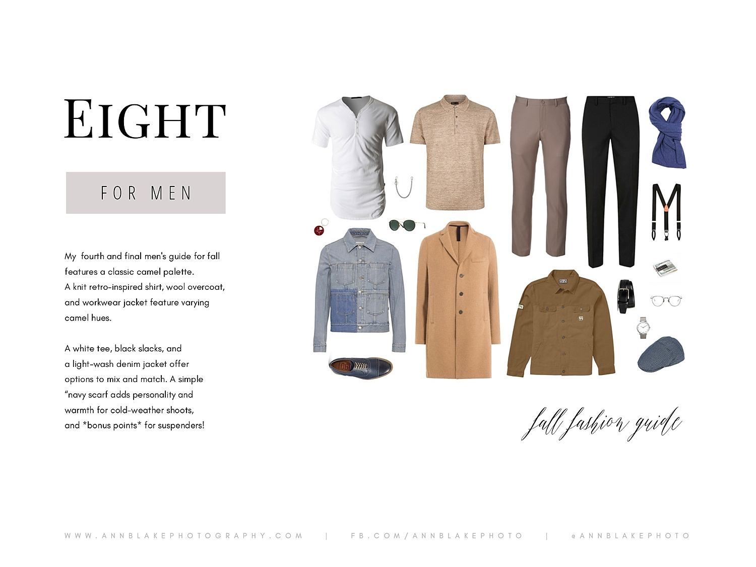 neutral color fall fashion guide for men