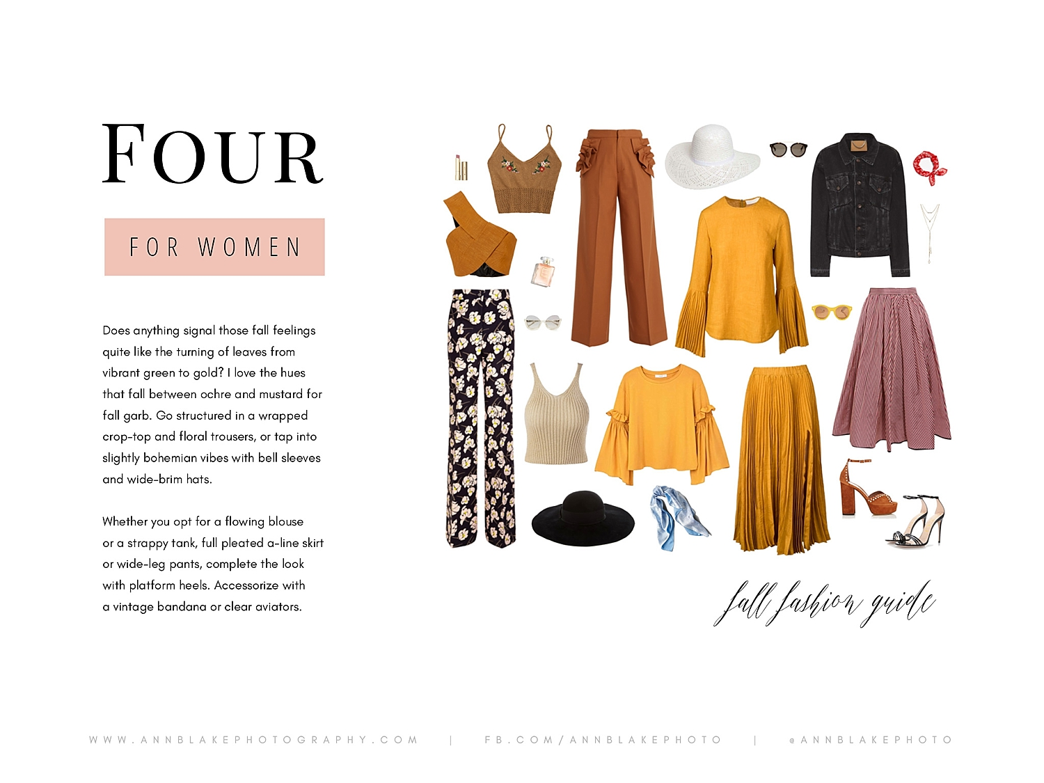 mustard yellow fall what to wear inspiration for portraits with ann blake photography