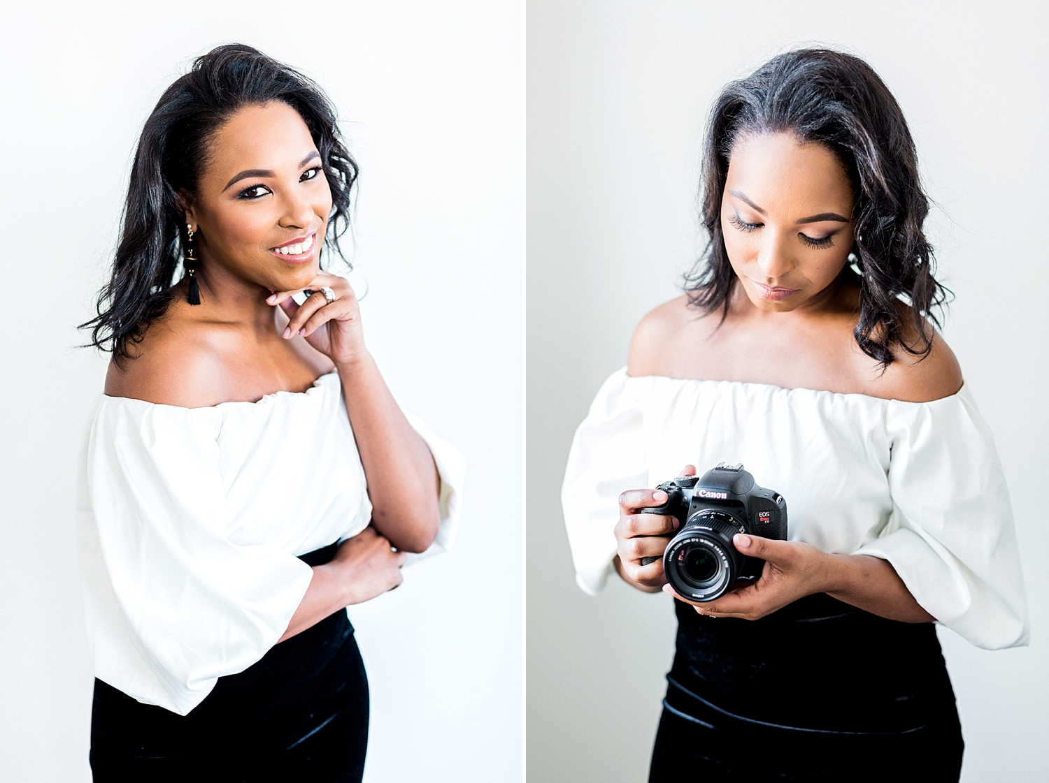 personal branding portrait of a lifestyle blogger photographed by Ann Blake Photography